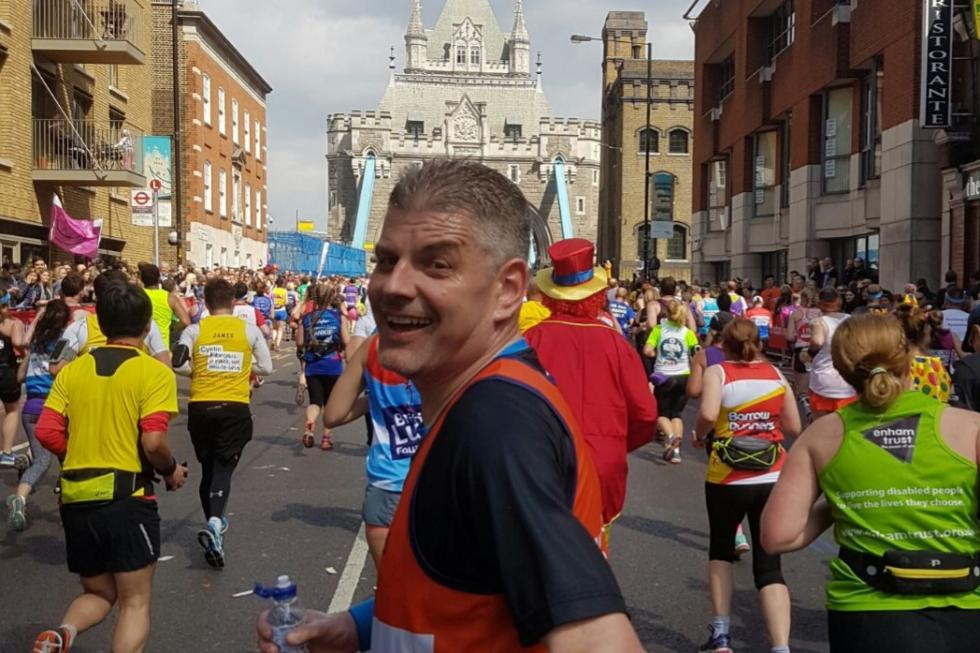 The London Marathon 1